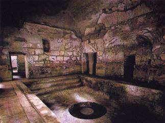 La domus for Salle de bain romaine