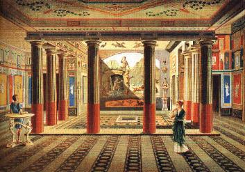 decoration romaine